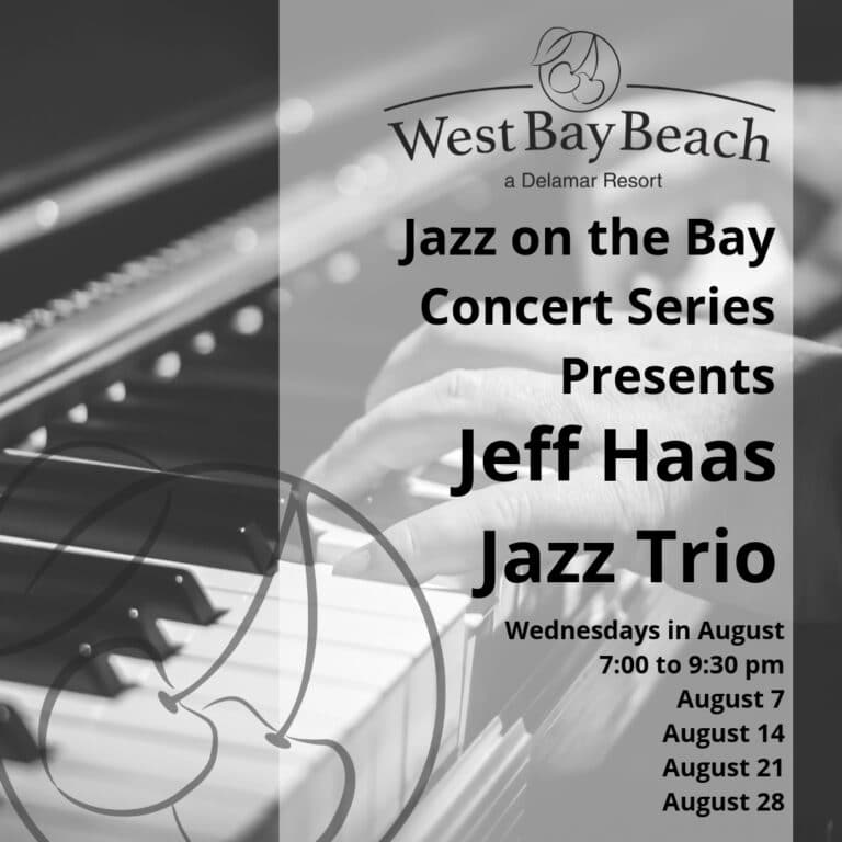 August Jazz 2019 at West Bay Beach Delamar