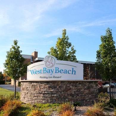 West Bay Beach Resort Traverse City MI Holiday Inn Property Feature