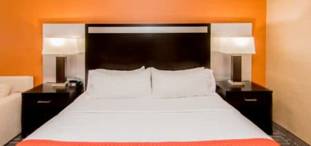accessible king room bed
