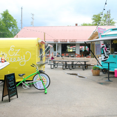 the little fleet food trucks traverse city mi
